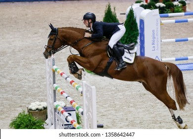 Marcus Ehning GER riding Firth of Lorne during the Equita Longines 2018, on October 31th to November 4th , 2018, in Lyon, France