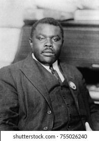 Marcus Garvey, Jamaican Black Nationalist and Separatist, ca. 1920. In August 1920, his 'Universal Negro Improvement Association,' , claimed 4 million members and 25,000 attended its Madison Square Ga