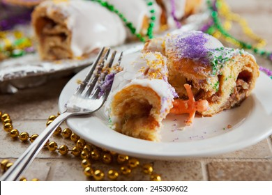 Mardi Gras: Baby Jesus Toy From Inside Piece Of King Cake