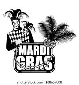 Mardi Gras design element. Jpg.