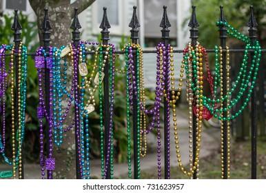 Mardi Gras Fence 3