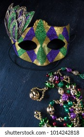 mardi gras mask for masquerade parade