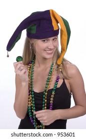 Mardi Gras Masked Beauty!