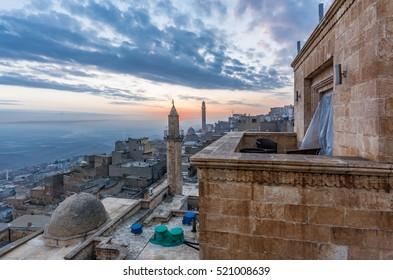 Mardin City in Eastern of Turkey