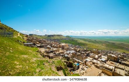 Mardin City in Turkey. Mardin is a historical city in Southeastern Anatolia, Turkey. Mardin, the shining city of Mesopotamia.