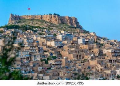 Mardin is an old city. Historical stone buildings, the city's minarets Mardin's best tourist attractions. (Mardin Castle View), Turkey