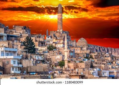 Mardin is an old city. Historical stone buildings, the city's minarets Mardin's best tourist attractions. Turkey