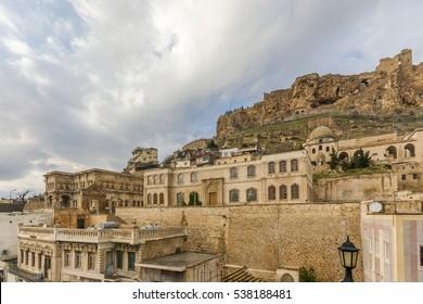 Mardin old city view in Turkey