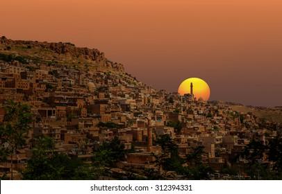 Mardin, old town