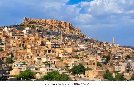 Mardin, small town near Diyarbakir in Turkey