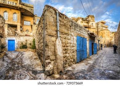 Mardin street view in Turkey