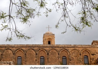 Mardin / Turkey - 05/04/2019: Deyrulzafaran Monastery in Mardin, Turkey. The Syriac Orthodox Monastery in Mardin, Turkey.