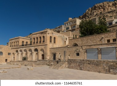 Mardin, Turkey - 10th June 2017 - an amazing mix of cultures and heritages, Mardin is a treasure, with its narrow alleys, its churches, mosques and madrassas. Here in particular a look of the Old Town