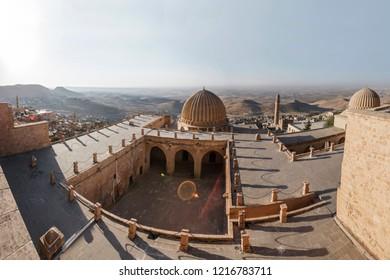 Mardin Turkey 14 September 2018:  Zinciriye Madrasah in Mardin. Populer tourist destination in Turkey.