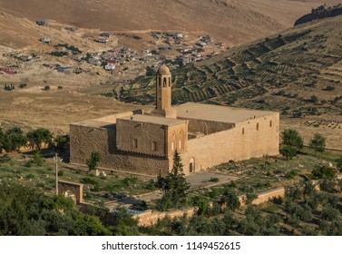 Mardin, Turkey - 16th June 2017 - an amazing mix of cultures and heritages, Mardin is a treasure, with its churches, mosques and madrassas. Here in particular the Kasımiye Madrasah