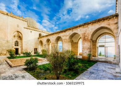 Mardin, Turkey - December 05, 2014 : Zinciriye Madrasa interior view in Mardin City. Mardin is populer tourist destination in Turkey.