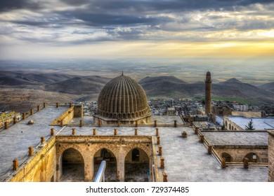 Mardin, Turkey - December 05, 2014 : Zinciriye Madrasah vire in Mardin. Mardin is populer tourist destination in Turkey.