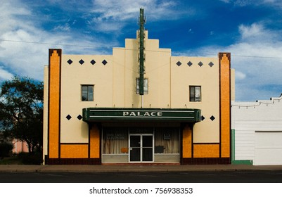 Marfa, Texas, US - 10/18/2017 -  Palace Theater