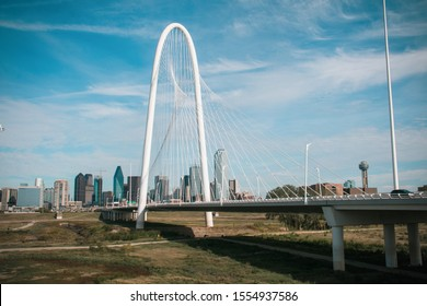 Margaret Hunt Hill Bridge Dallas