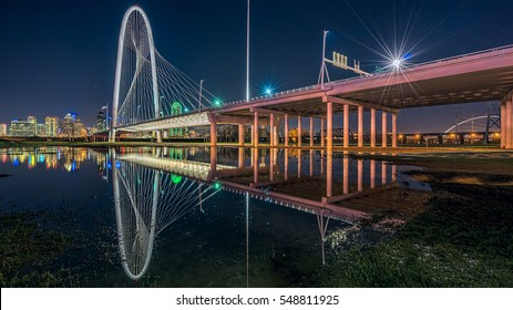 The Margaret Hunt Hill Bridge has become an icon of Dallas, Texas replacing the Reunion Tower that identified the Dallas skyline.