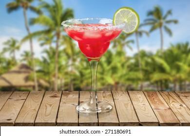 Margarita, Strawberry, Cocktail.