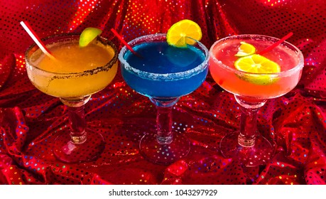Margaritas with local ingredients