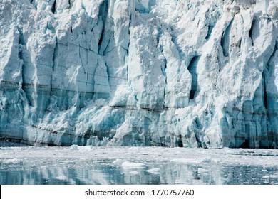 Margerie Glacier At Glacier Bay In Alaska
