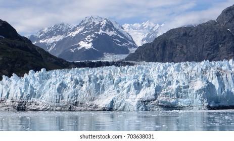 Margerie glacier in glacier bay, in alaska