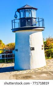 Marginal Way Lighthouse in Ogunquit, Maine