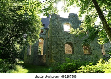 Maria chapel ruin in south germany