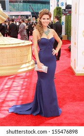 Maria Menounos at the 65th Primetime Emmy Awards at the Nokia Theatre, LA Live. September 22, 2013  Los Angeles, CA
