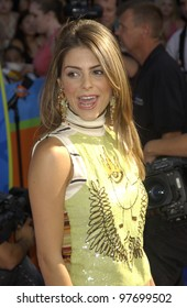 MARIA MENOUNOS at the Teen Choice Awards in Hollywood. Aug 2, 2003  Paul Smith / Featureflash