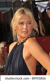 Maria Sharapova at the 2011 ESPY Awards at the Nokia Theatre LA Live in downtown Los Angeles. July 13, 2011  Los Angeles, CA Picture: Paul Smith / Featureflash