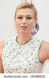 Maria Sharapova arriving for the WTA Pre-Wimbledon Party 2013 at the Kensington Roof Gardens, London. 20/06/2013