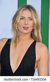 Maria Sharapova at the Los Angeles premiere of 'Battle of the Sexes' held at the Regency Village Theatre in Westwood, USA on September 16, 2017.