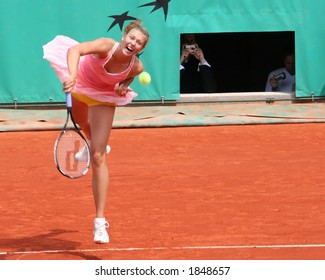 Maria Sharapova Serves