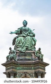 Maria Theresia Monument, in Vienna, Austria, Europe. The monument was built by Kaspar von Zumbusch in the year 1888