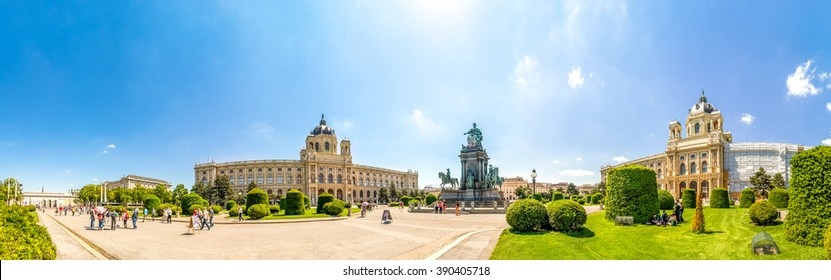 Maria Theresia Place, Vienna,