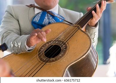 Mariachi Guitar Player