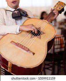 Mariachi Musician With Guitar