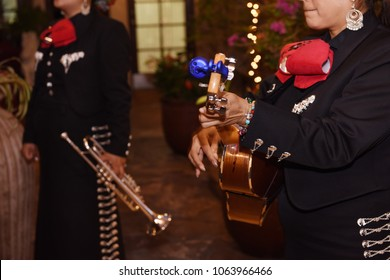 Mariachi playing at event