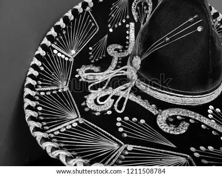 Mariachi Sombrero Brim Stock Photo (Edit Now) 1211508784 - Shutterstock d1448596732