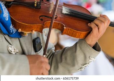 Mariachi Violin Player