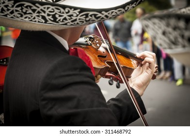 Mariachis in Mexico CIty