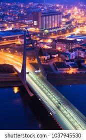 Marian bridge over the river Labe