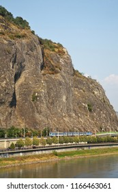 Marianska skala in Usti nad Labem. Czech Republic