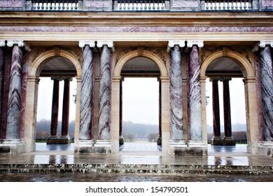 Marie Antoinette House at Versailles in France