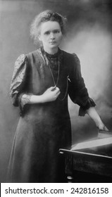 Marie Curie (1867-1934), Polish-French physicist who won two Nobel Prizes, in 1903 for Physics and 1911 for Chemistry.