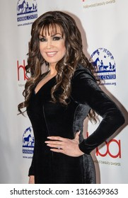 Marie Osmond arrives at the 2019 Hollywood Beauty Awards at Avalon Hollywood in Los Angeles, CA on February 17, 2019.