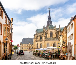 Marien Church, Market, Osnabrück, Germany